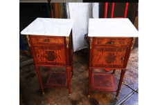 Pair of Louis XV bedside cabinets