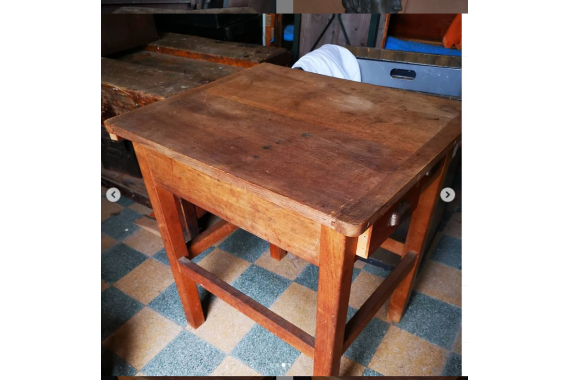 French 4 Drawer Butcher's Table
