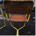 1950's wicker  chairs